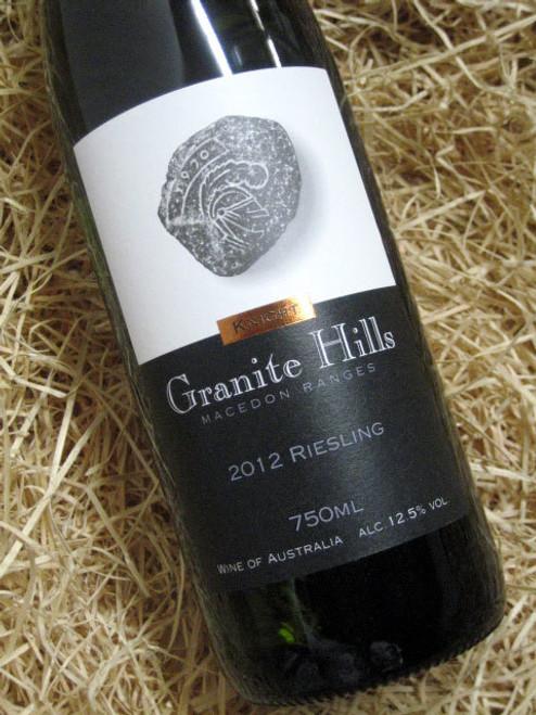 Granite Hills Riesling 2012