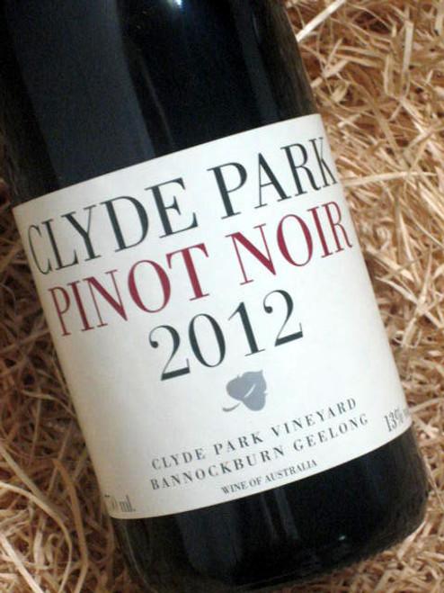 Clyde Park Estate Pinot Noir 2012