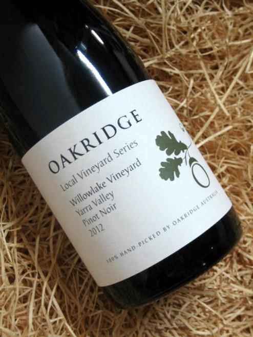 Oakridge Local Vineyard Series Willowlake Vineyard Pinot Noir 2012