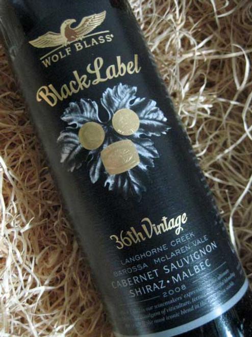 Wolf Blass Black Label 2008