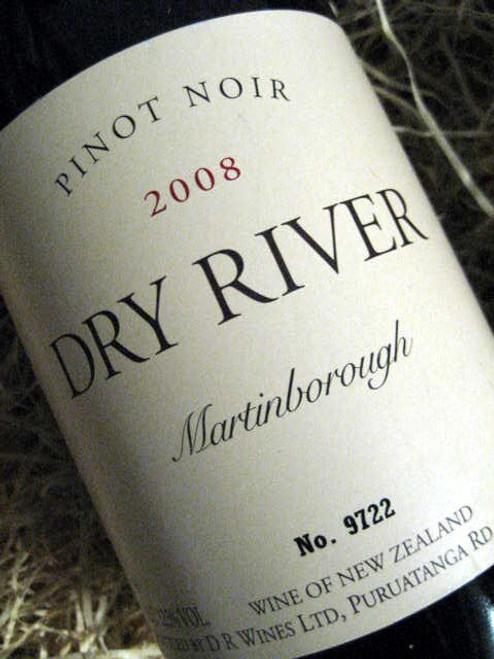 Dry River Pinot Noir 2008