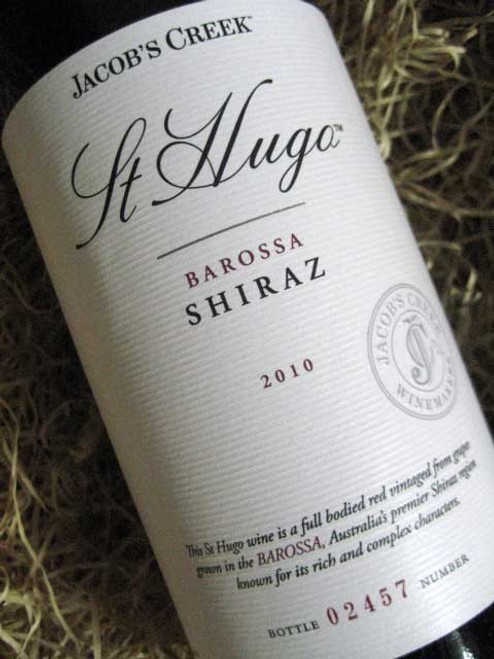 Orlando Jacobs Creek St Hugo Shiraz 2010