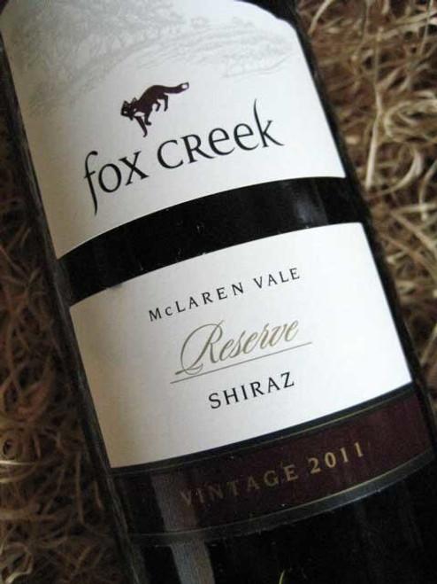 Fox Creek Reserve Shiraz 2011