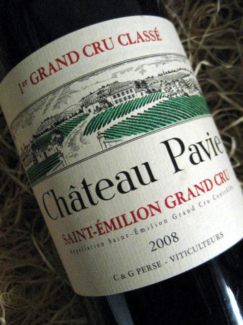 [SOLD-OUT] Chateau Pavie 2008