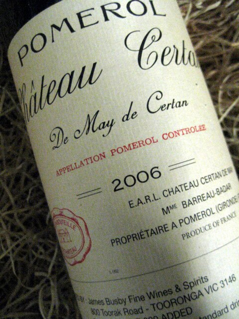 [SOLD-OUT] Chateau Certan De May Pomerol 2006