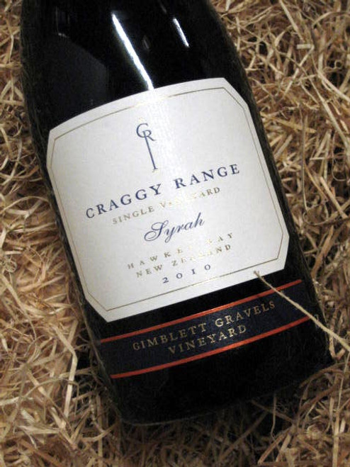 Craggy Range Gimblett Gravels Syrah 2010
