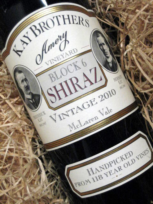 [SOLD-OUT] Kay Brothers Block 6 Shiraz 2010