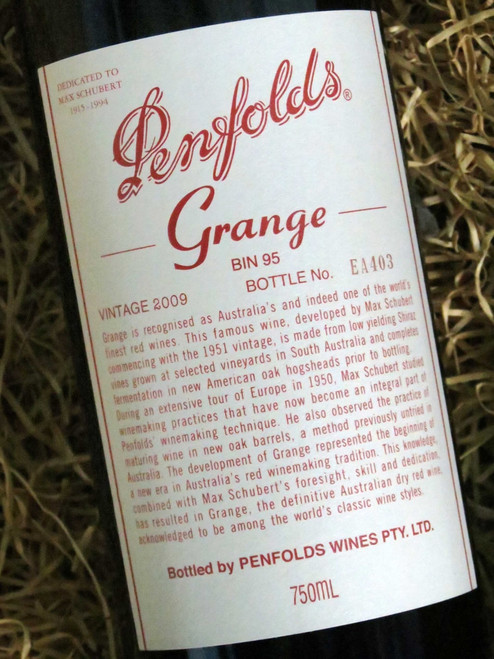 [SOLD-OUT] Penfolds Grange 2009