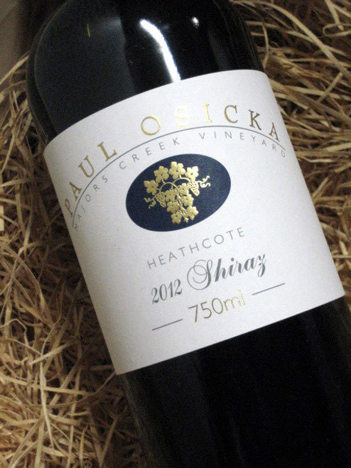 [SOLD-OUT] Paul Osicka Shiraz 2012