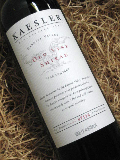 Kaesler Old Vine Shiraz 2008