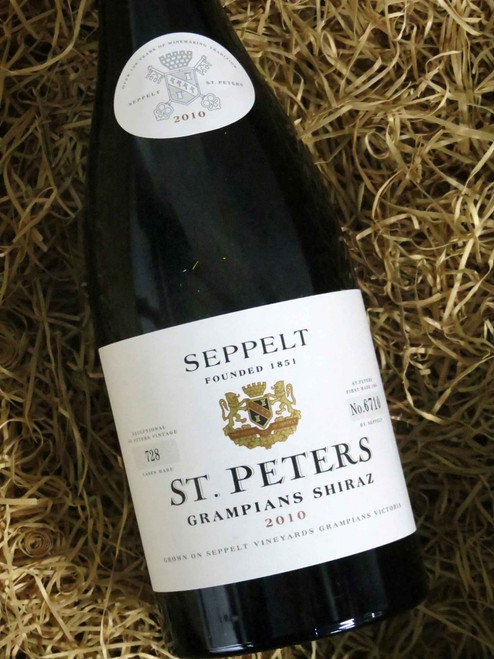 [SOLD-OUT] Seppelt St Peters Shiraz 2010