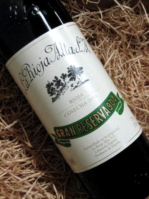 [SOLD-OUT] La Rioja Alta Gran Reserva '904' 2004