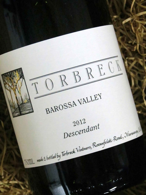 [SOLD-OUT] Torbreck Descendant Shiraz Viognier 2012