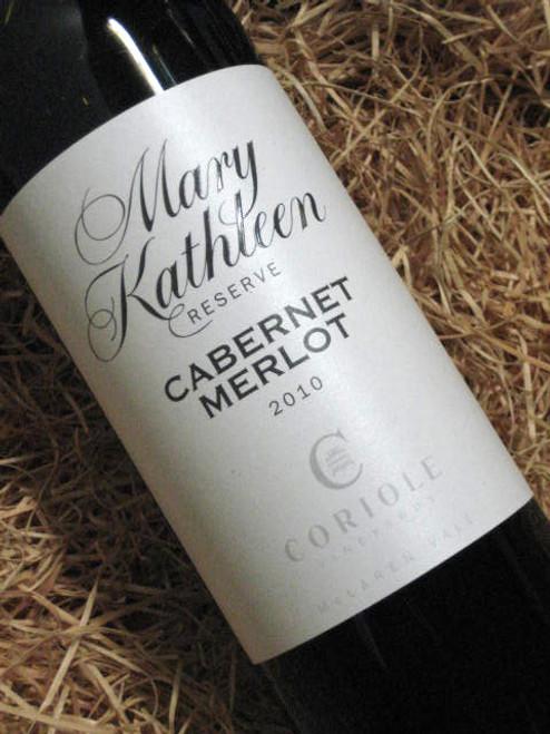 Coriole Mary Kathleen Reserve Cabernet Merlot 2010