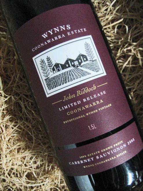 Wynns John Riddoch Cabernet Sauvignon 2005 1500mL