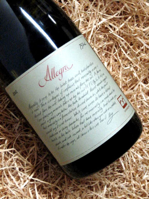 [SOLD-OUT] Lethbridge Allegra Chardonnay 2012