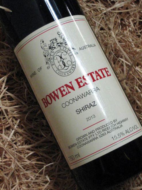 [SOLD-OUT] Bowen Estate Shiraz 2013