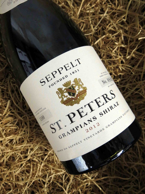 [SOLD-OUT] Seppelt St Peters Shiraz 2012