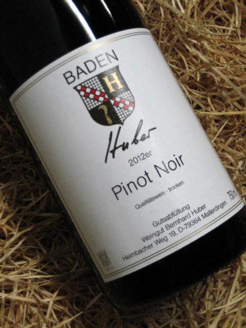 Bernhard Huber Pinot Noir 2012