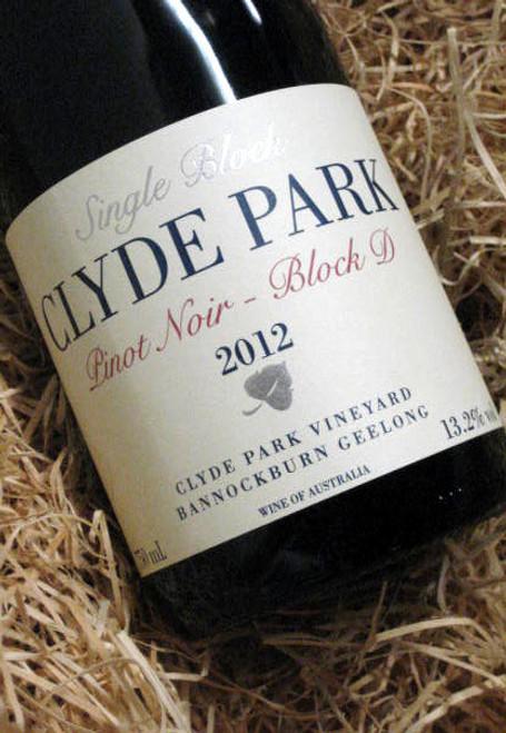 Clyde Park Estate Block D Pinot Noir 2012
