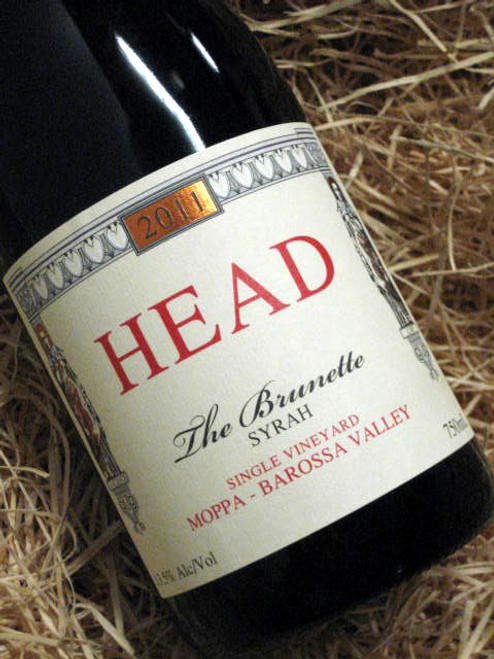 Head Wines The Brunette Shiraz 2011