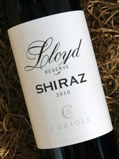 [SOLD-OUT] Coriole Lloyd Reserve Shiraz 2010