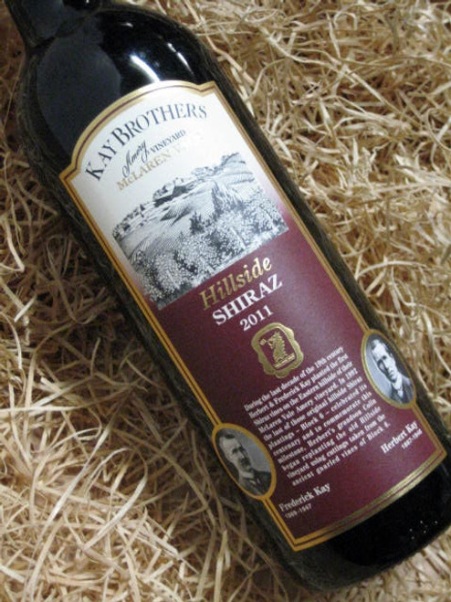 [SOLD-OUT] Kay Brothers Hillside Shiraz 2011