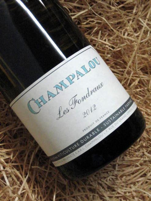 Champalou Vouvray Demi-Sec 2012