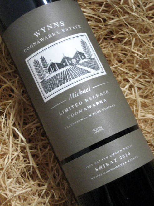 [SOLD-OUT] Wynns Michael Shiraz 2010