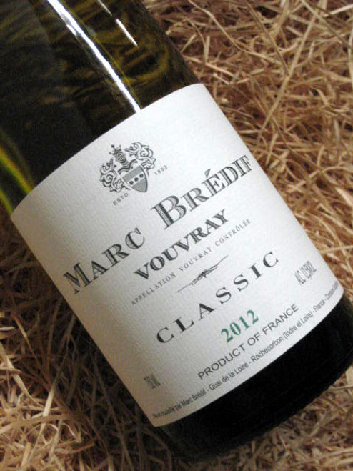 Marc Bredif Vouvray 2012