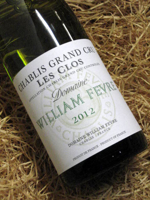 William Fevre Les Clos Grand Cru 2012