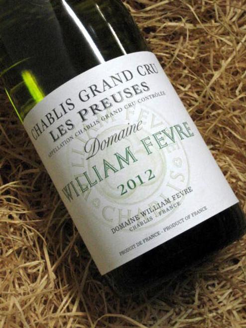 [SOLD-OUT] William Fevre Les Preuses Grand Cru 2012