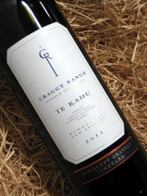 Craggy Range Te Kahu Merlot Cabernet Franc Cabernet Sauvignon 2011