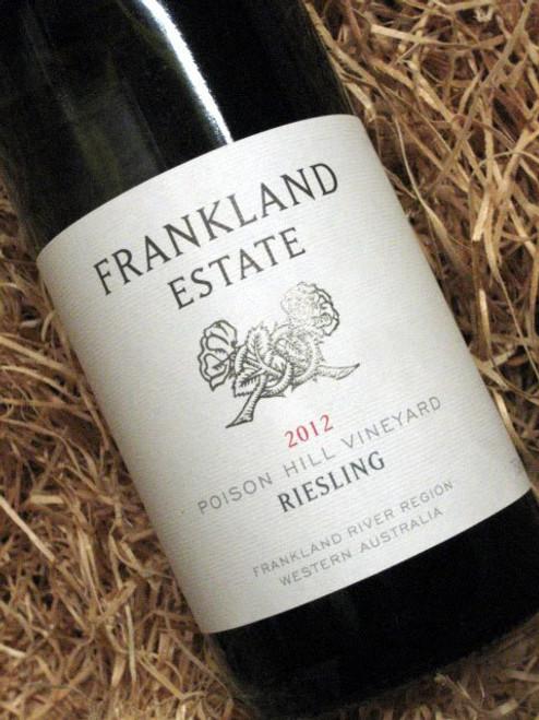 Frankland Estate Poison Hill Riesling 2012