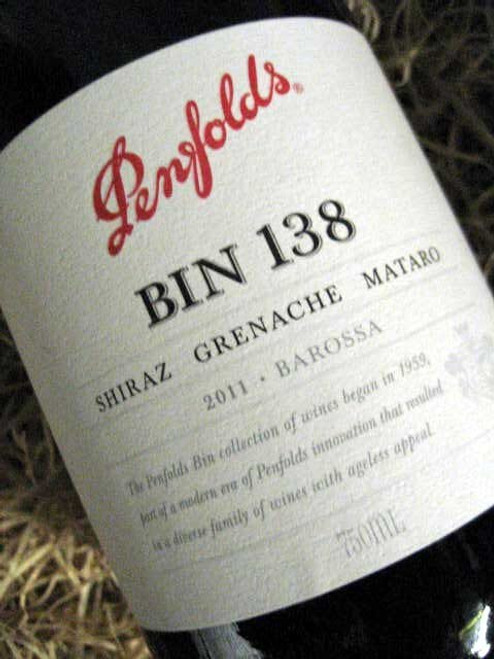Penfolds Bin 138 2011