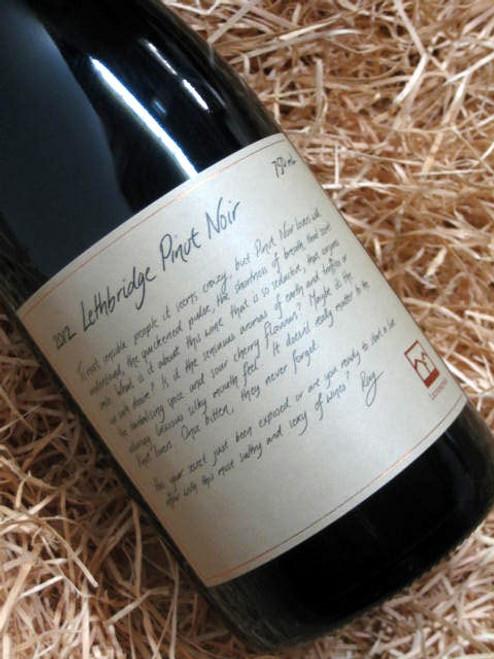 Lethbridge Pinot Noir 2012