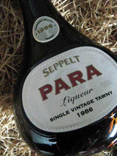 Seppelt Para Liqueur Port 1986