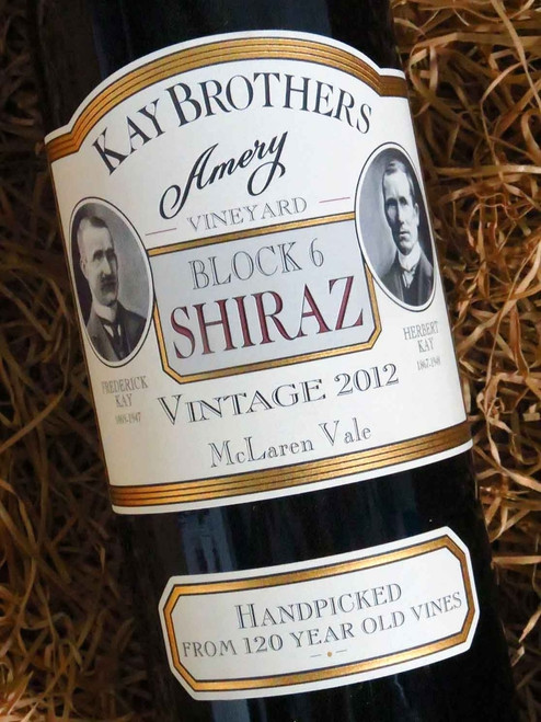 [SOLD-OUT] Kay Brothers Block 6 Shiraz 2012