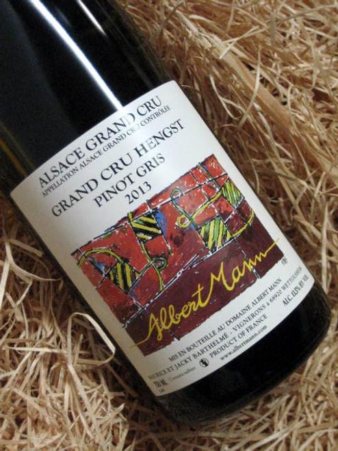 [SOLD-OUT] Albert Mann Grand Cru Hengst Pinot Gris 2013