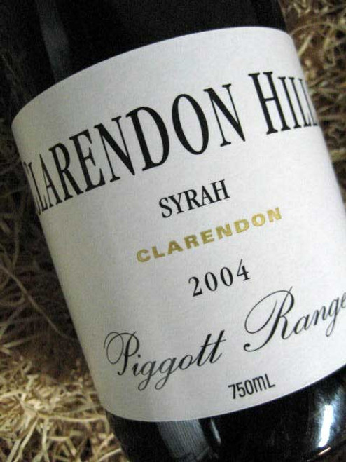 [SOLD-OUT] Clarendon Hills Piggott Range Shiraz 2004