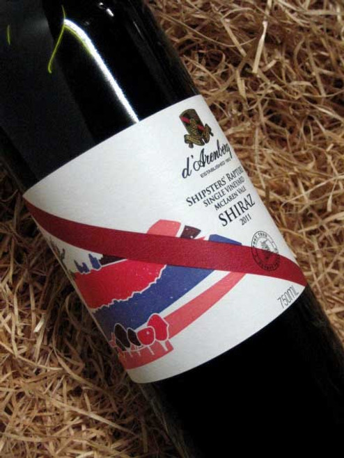 [SOLD-OUT] d'Arenberg Shipsters Rapture Shiraz 2011