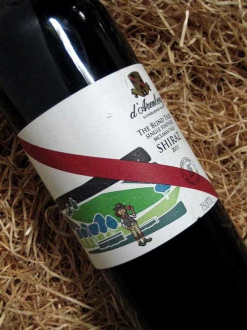 [SOLD-OUT] d'Arenberg The Blind Tiger Shiraz 2011