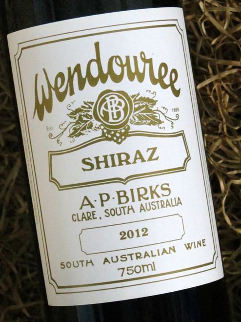 [SOLD-OUT] Wendouree Shiraz 2012