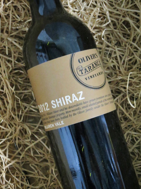 [SOLD-OUT] Oliver's Taranga Shiraz 2012
