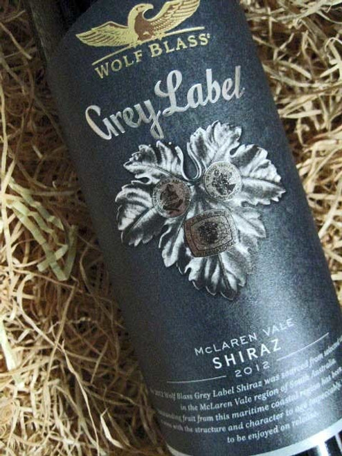 [SOLD-OUT] Wolf Blass Grey Label Shiraz 2012