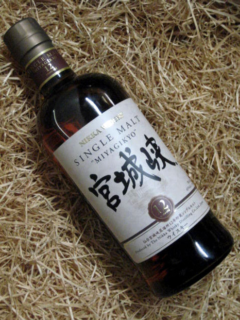 [SOLD-OUT] Nikka Whisky 'Miyagikyo' 12YO Single Malt
