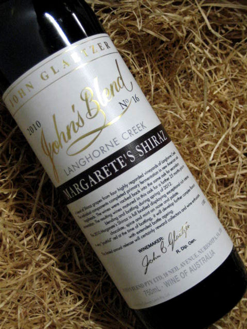 [SOLD-OUT] John Glaetzer John's Blend Margarete's Shiraz 2010