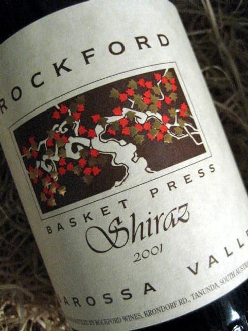 Rockford Basket Press Shiraz 2001