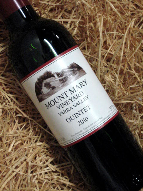 [SOLD-OUT] Mount Mary Quintet 2010 375mL-Half-Bottle