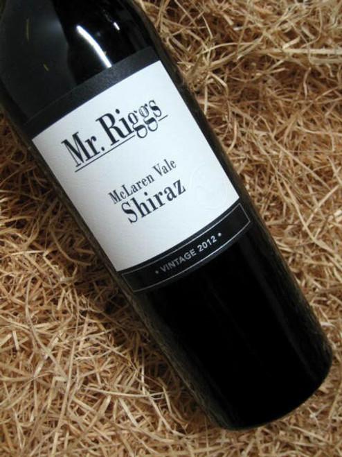 [SOLD-OUT] Mr Riggs Shiraz 2012